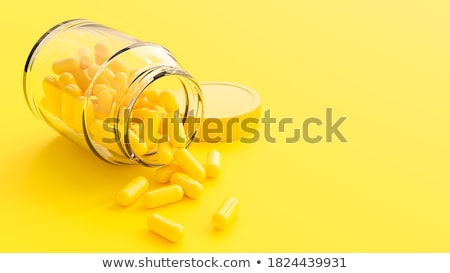 Capsule blue-yellow Stock photo © cundm
