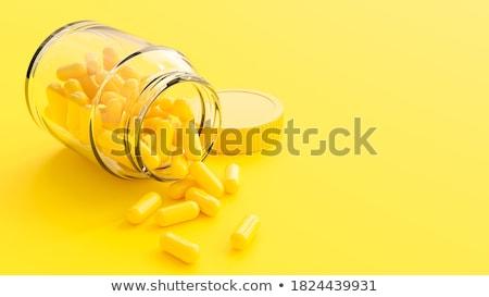капсула · медицина · синий · желтый · больницу · таблетки - Сток-фото © cundm