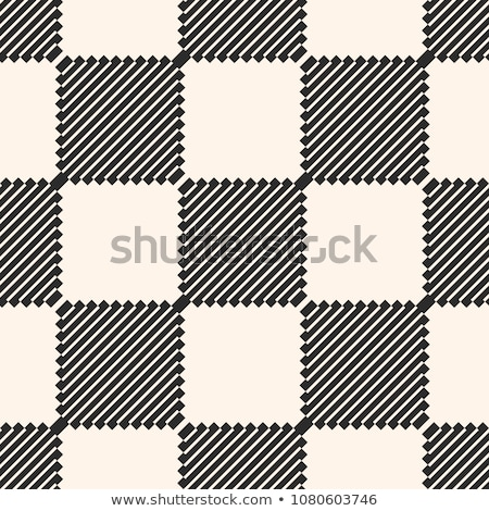 minimal diagonal lines checkers pattern Stock photo © SArts