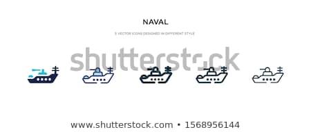 Hajók szett katonaság hajó csónak használt Stock fotó © robuart