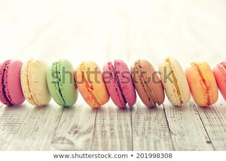 миндаль · Cookies · морем · украшение · свет · серый - Сток-фото © kotenko