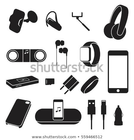 téléphone · cas · design · téléphone · portable · résumé · géométrique - photo stock © user_11138126