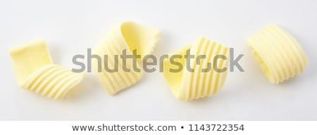 Vers boter witte witte achtergrond Stockfoto © Digifoodstock