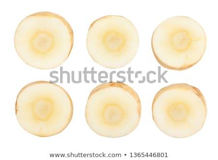 salsa · raiz · folhas · branco · fresco - foto stock © Digifoodstock