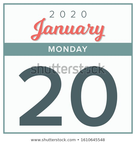 20th January Stock photo © Oakozhan