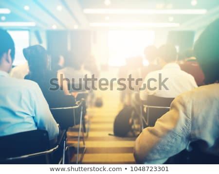 Soyut bulanıklık iş girişimcilik tanınmaz kalabalık Stok fotoğraf © stevanovicigor
