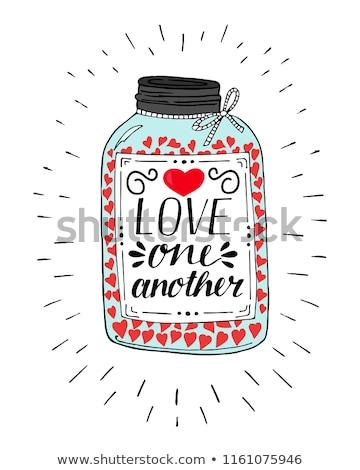 çift aşıklar renkli kadın sevmek mutlu Stok fotoğraf © Fotografiche