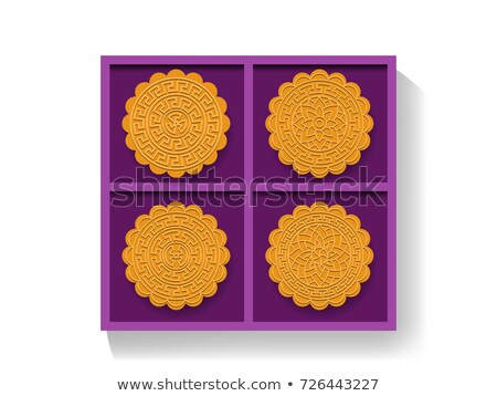 traditioneel · asian · bakkerij · dessert · vector · goud - stockfoto © jiaking1