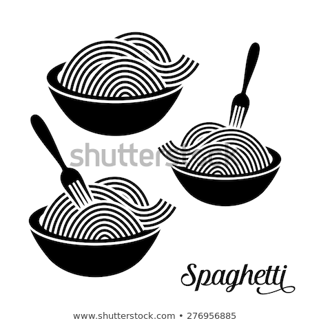 italiaanse · keuken · lijn · ontwerp · stijl · banner · witte - stockfoto © olena