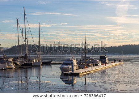 セーリング 発送 桟橋 海景 水 自然 ストックフォト © OleksandrO