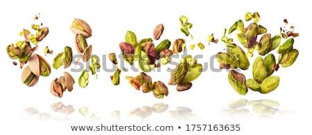 Foto stock: Nueces · cuadro · superior · vista · semillas