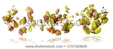 sementes · nozes · coleção · saúde · branco · terreno - foto stock © karandaev