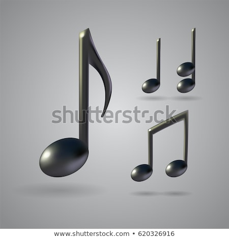Music sign quarter note 3D Stock photo © djmilic