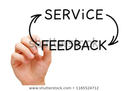 service feedback cycle concept stock photo © ivelin