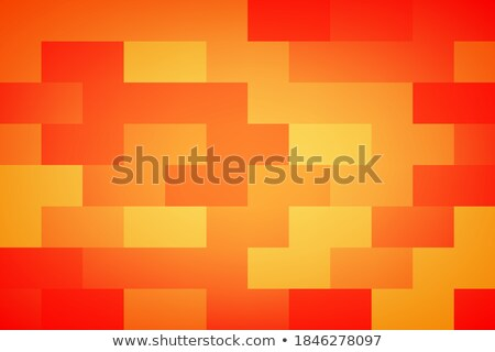 orange abstract diamond and rectangle shape vector illustration stock photo © cidepix