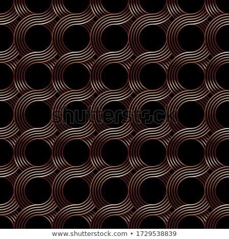 réz · csővezeték · végtelen · minta · vektor · ipar · ipari - stock fotó © cienpies