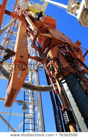 Oilfield close up Stock photo © pedrosala