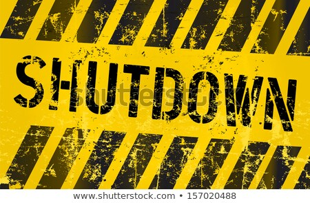 USA Government Shutdown Crisis Stock photo © Lightsource