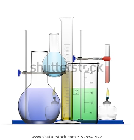 Realistic Laboratory Glassware Or Beaker Vector Stock fotó © pikepicture
