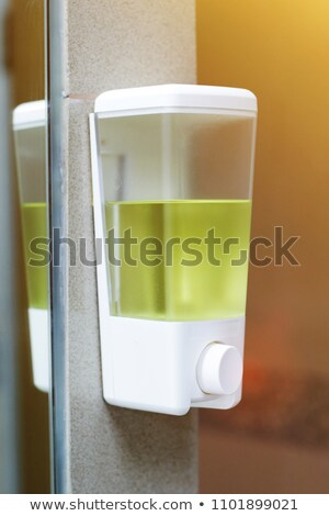 Liquid Soap Dispenser On Wall For Hand Cleaning Stock photo © AndreyPopov
