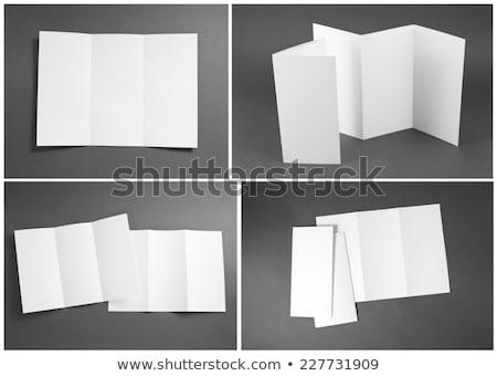 Set brochure modello Pubblicità volantini carta Foto d'archivio © MarySan