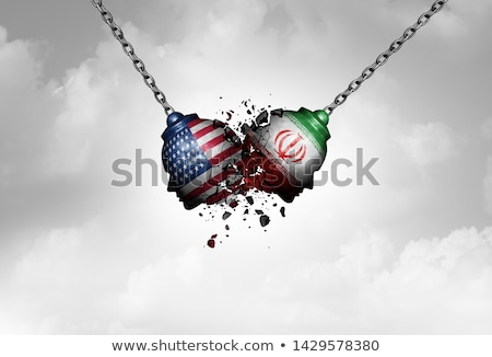 Iran USA Tensions Stock photo © Lightsource
