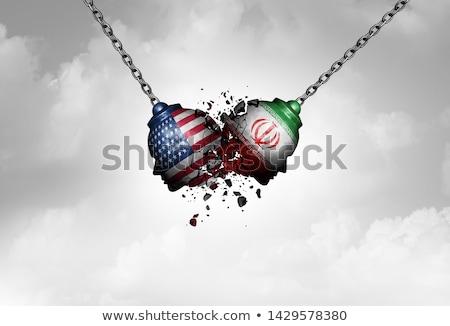 Stock photo: Iran USA Tensions