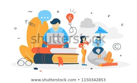 Copywriting concept vector illustration Stock photo © RAStudio