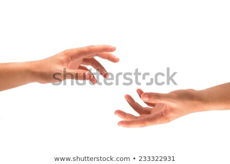 Man's Hand Opening Safe Stock photo © AndreyPopov
