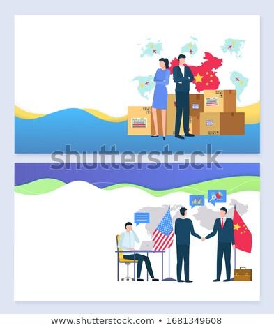 Stockfoto: Handel · productie · ingesteld · produceren · China