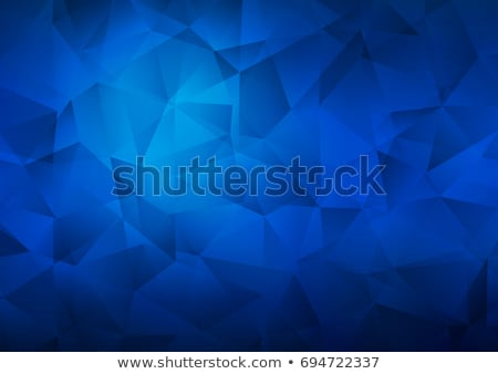 abstract glowing hexagonal pattern on blue background Stock photo © SArts