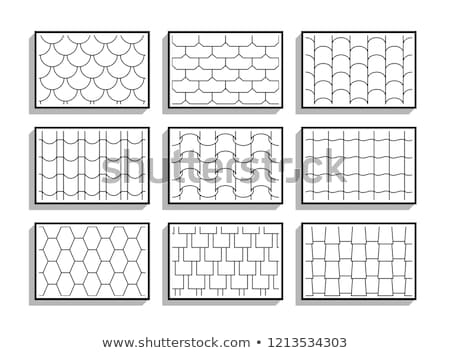 Abstract scale pattern. Roof tiles background Stock photo © ESSL
