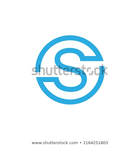 Lineal geométrico alfabeto carta simple Foto stock © kyryloff