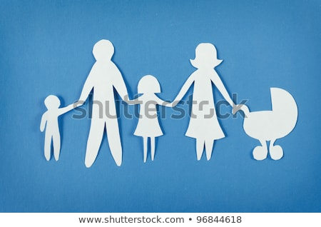 persoon · hand · familie · hout - stockfoto © andreypopov