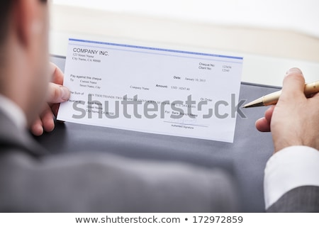 стороны заполнение проверка подписания служба Сток-фото © AndreyPopov