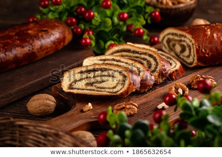 Walnut rolls Stock photo © boggy