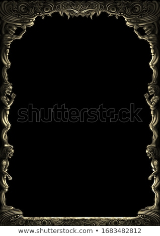ファンタジー フレーム セット 色 フレーム スペース ストックフォト © ensiferrum