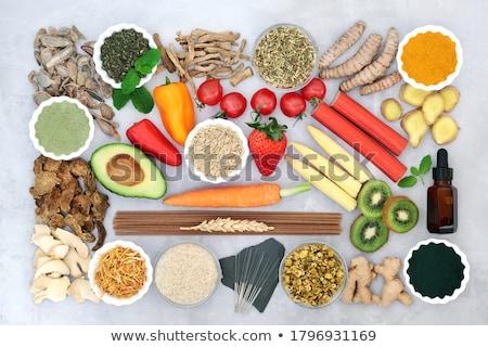 Saúde comida intestino síndrome saudável Foto stock © marilyna