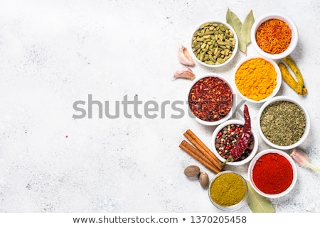 Cumin over white background Stock photo © simply