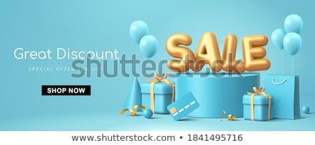 3d Concept of discount Stock photo © dacasdo