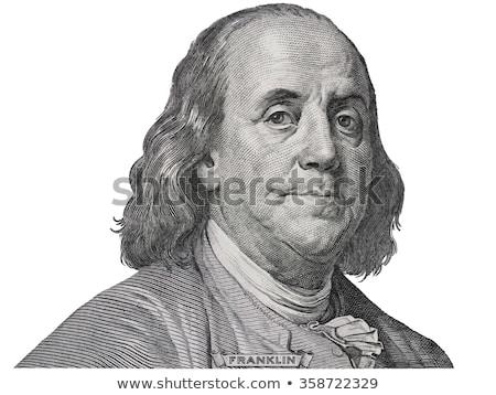 Washington · portret · een · dollar · Bill · macro - stockfoto © creisinger