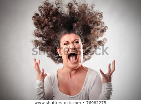 screaming mad woman Stock photo © pdimages