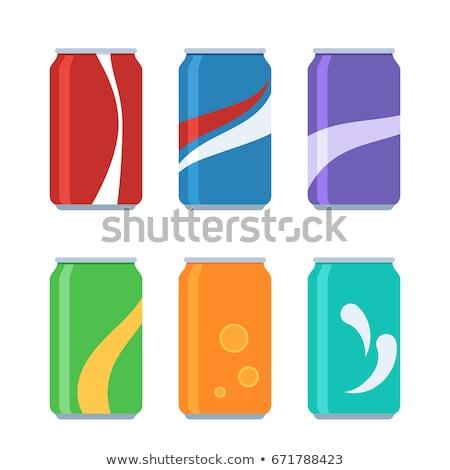 kırmızı · kola · grup · renk · nesneler · soda - stok fotoğraf © jamdesign