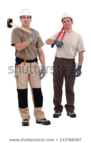 tradesmen holding their tools stock photo © photography33