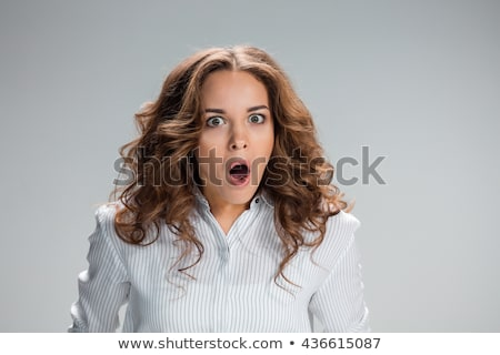 portrait of a woman horror stock photo © Aliftin