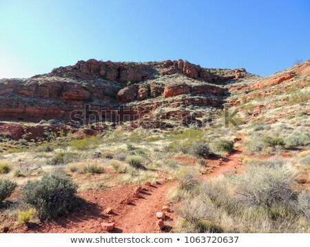 maquinaria · calcário · rochas · natureza · paisagem · montanha - foto stock © franky242