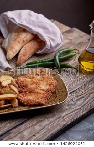 étel · híres · vacsora · étel · Ausztria · ízletes - stock fotó © hideomi