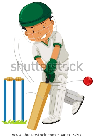 子供 演奏 クリケット 女性 子供 男 ストックフォト © haiderazim
