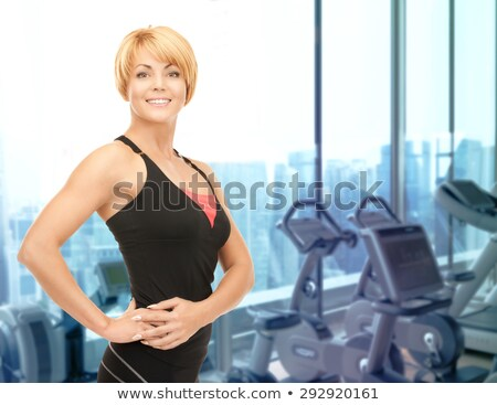 Confident middle-aged female instructor Stock photo © stockyimages