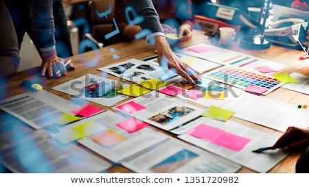 brainstorm director stock photo © idesign